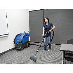 Clarke EX20 100C Cold Water Carpet Extractor Blue By Office Depot