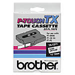 Brother TX 1311 Black On Clear