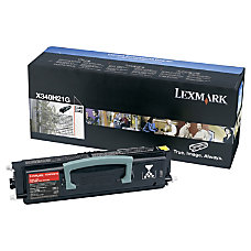 Lexmark X340H41G Black Toner