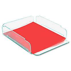 Lorell Single Stacking Letter Tray 14