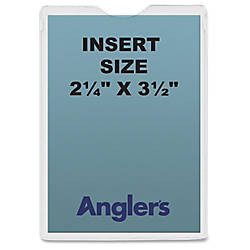 Anglers Self stick Crystal Clear Poly