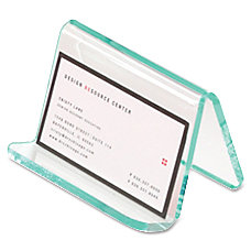 Lorell Business Card Holder 4 x