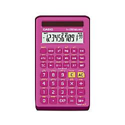 Casio Handheld Scientific Calculator Pink FX260SOLARII