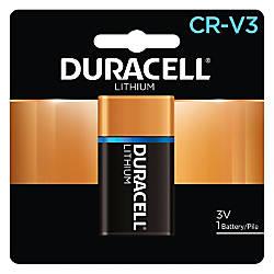 Duracell CRV3 Lithium Battery DLCRV3BPK