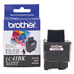 Brother LC41BK Black Ink Cartridge