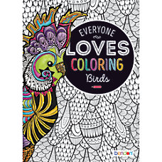 Bendon Adult Coloring Book Birds