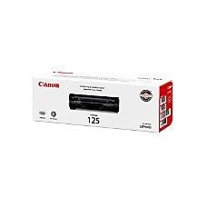 Canon CRG 125 3484B001 Black Toner