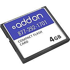 AddOn Cisco MEM CF 256U4GB Compatible
