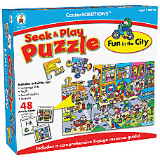 Carson Dellosa Seek Play Puzzle Fun