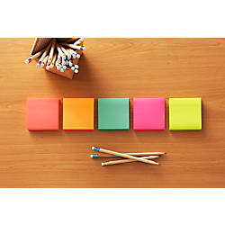 "Post-it® 3"" x 3"" Notes, Cape Town Collection, 100 Sheets Per Pad, Pack Of 14 Pads"