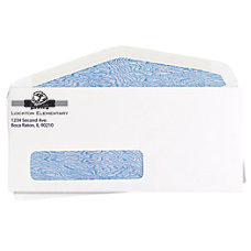 Window Security Business Envelopes White No