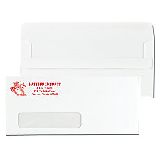 Standard Self Seal Window Envelopes 10