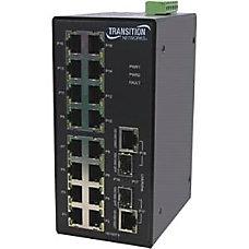 Transition Networks Managed Hardened Fast Ethernet
