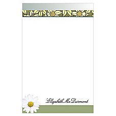 Full Color Memo Pads White 5