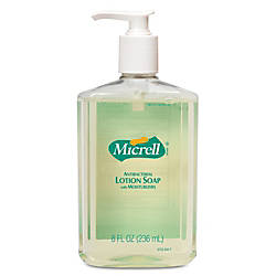 GOJO MICRELL Antibacterial Lotion Soap Unscented