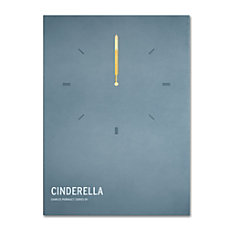 Trademark Global Cinderella Gallery Wrapped Canvas