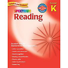 Carson Dellosa Spectrum Reading Grade K