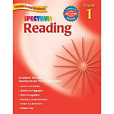 Carson Dellosa Spectrum Reading Grade 1