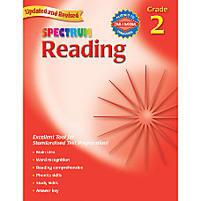 Carson Dellosa Spectrum Reading Grade 2