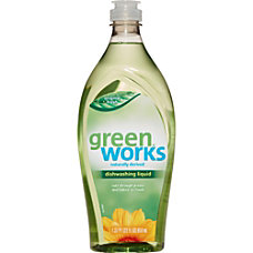 Green Works Original Dishwashing Liquid Liquid