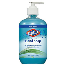 Clorox Antimicrobial Hand Soap Blue 18