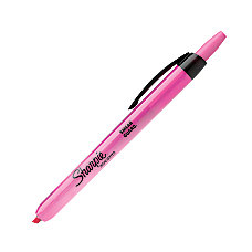 Sharpie Accent Retractable Highlighter Pink