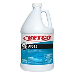Betco AF315 Disinfectant Cleaner Citrus Floral