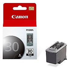 Canon PG 30 Black Ink Cartridge