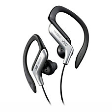 JVC Ear Clip Headphones for Light