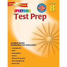 Spectrum Common Core Test Prep Grade