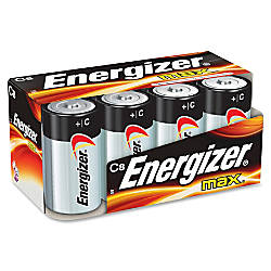 Energizer Max Alkaline C Batteries C