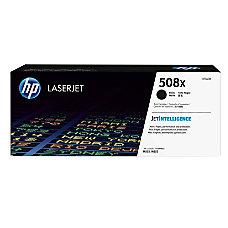 HP 508X High Yield Black Toner