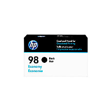 HP 98 Economy Yield Black Ink