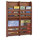 Safco 4 Pocket Magazine Wall Rack