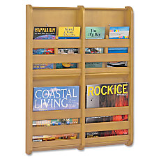 Safco 4 Pocket Magazine Wall Rack