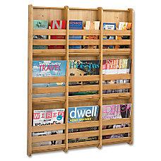 Safco 9 Pocket Magazine Wall Rack