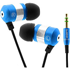 GOgroove Professional GG AUDIOHM BLUE Earphone
