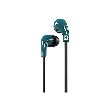 iHome Noise Isolating Earbuds With In Line Microphone And