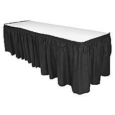 Genuine Joe Linen Like Table Skirt