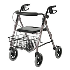Guardian Deluxe Aluminum Rollator 8 Wheels