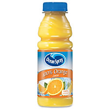 Ocean Spray Bottled Orange Juice Orange