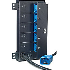 HP 5 Outlets Power Strip
