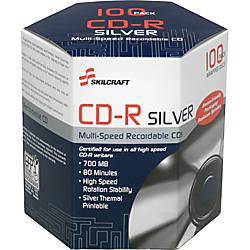 SKILCRAFT CD Recordable Media CD R