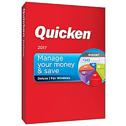 Quicken Deluxe 2017 For PC Download