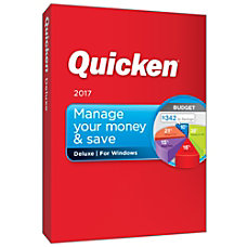 Quicken Deluxe Budget 2017 For PC