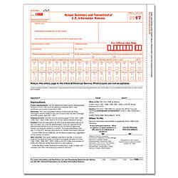 ComplyRight 1096 Transmittal InkjetLaser Tax Forms