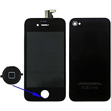 4XEM Replacement LCD ScreenTouch DigitizerBack Cover