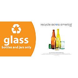 Recycle Across America Glass Standardized Recycling