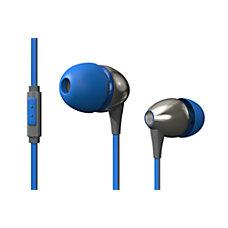 Popclik Evolo Earphones EV1 BL Blue