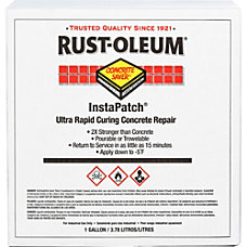 Rust Oleum InstaPatch Concrete Repair Kit